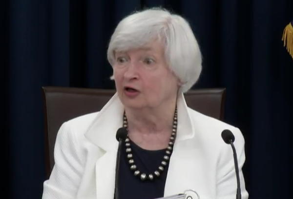 Yellen reportedly out of the race for Fed chair