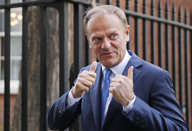EU's Tusk While Brexit progress isn't sufficient, it's promising