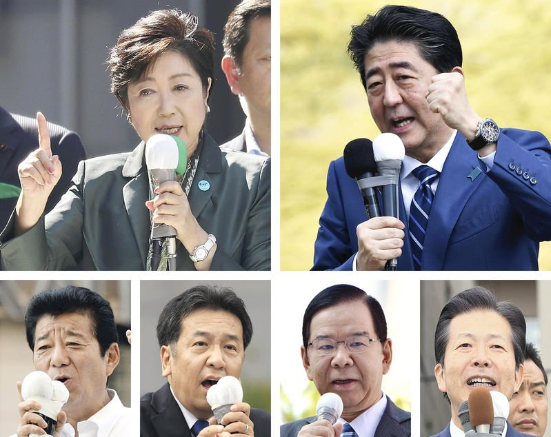 Japan's election candidates overwhelmingly prefer vanilla