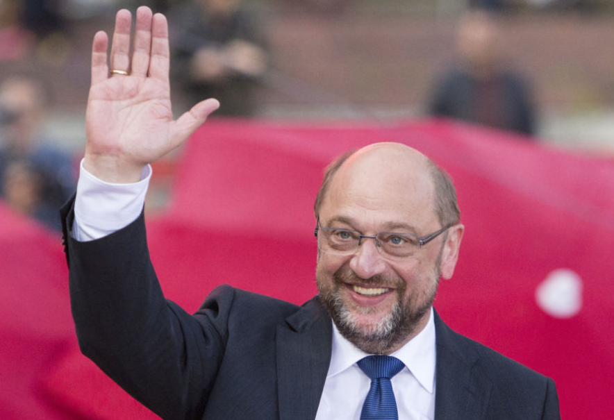 German SPD's Schulz: Have made progress in coalition talks but not under time pressure