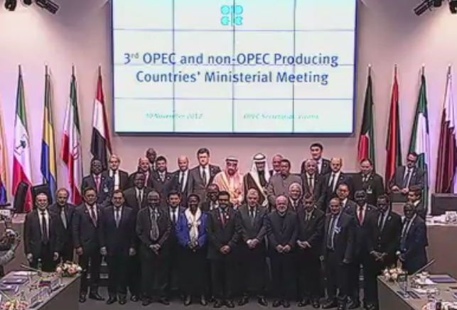 OPEC is looking for participation in the agreement from a wider group of countires