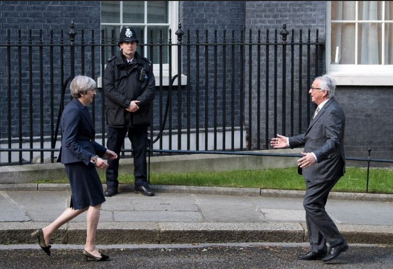 UK's May to EU's Juncker – Out means out
