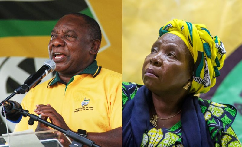 SOUTH AFRICA ANC LEADERSHIP VOTE RESULTS: RAMAPHOSA ELECTED ANC LEADER
