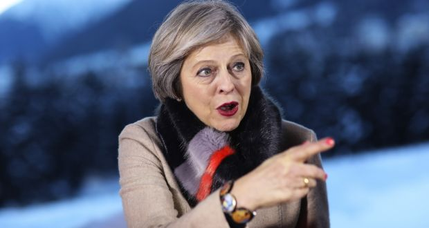 PM May: Want to ensure financial services retains its role