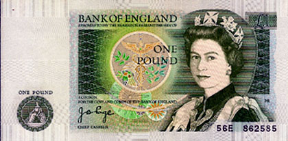 The proud Pound is back into the funds good grace