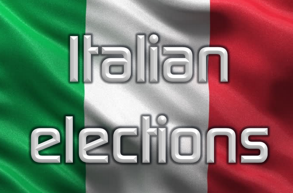 Where's the market at with the Italian elections?
