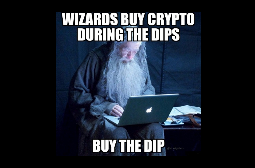Wizards buy the Bitcoin dip