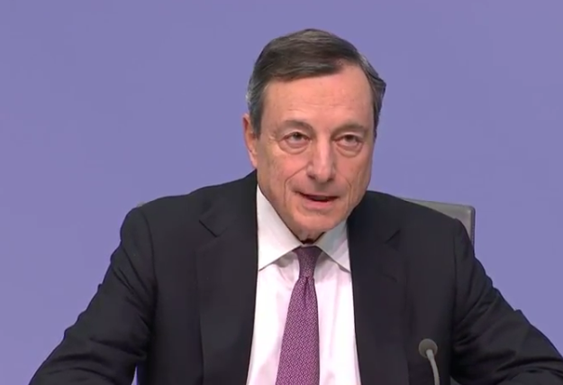 "We only removed the line on the ""likelihood"" to increase purchases in the future says ECB's Draghi"