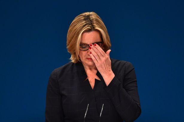 """UK Home Secretary Amber Rudd resigns over the """"Windrush""""crisis"""