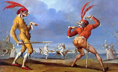 Comedia dell'Arte around the Italian coalition talks