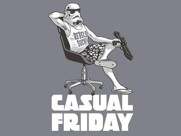 Casual battle Friday