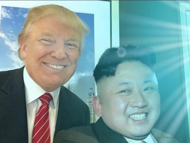 Best buddies Trump & Kim