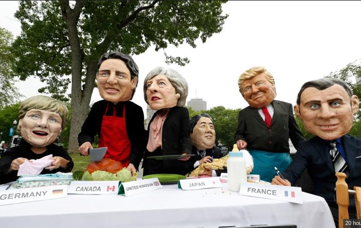 Here's why the G7 statement and delivery might be different
