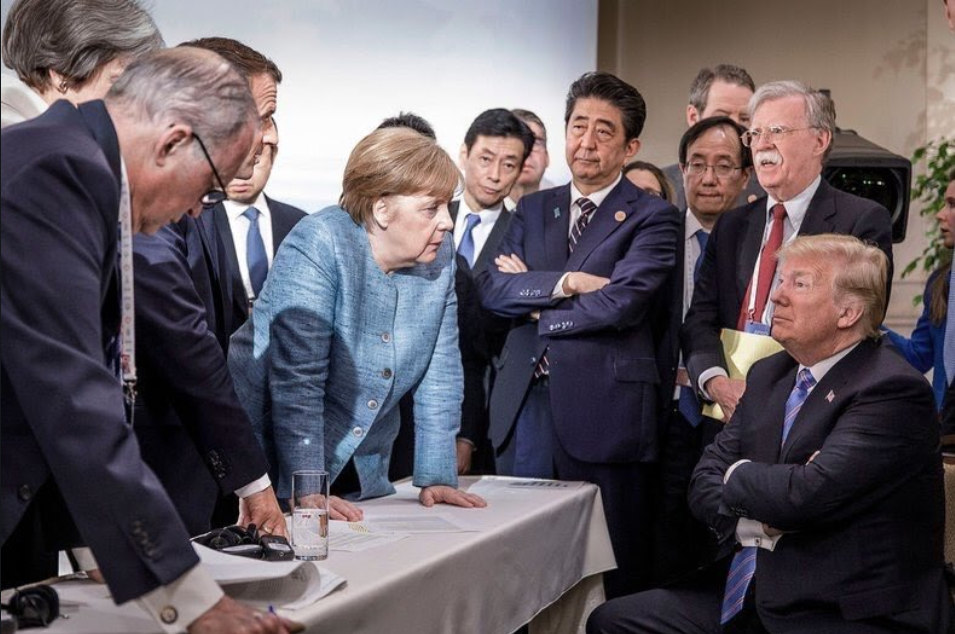 Nukes Trump G7 in the next political poker game as we start a very busy week