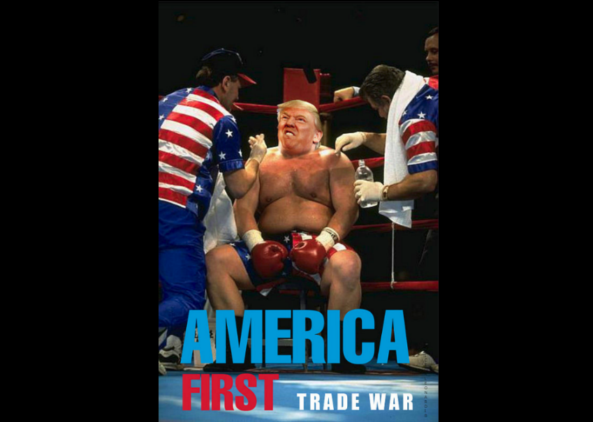 At which point does a trade war become bad for the US and the dollar?