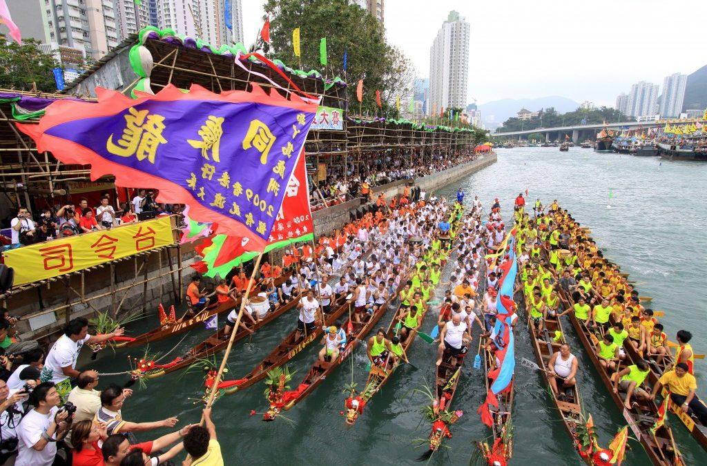So far, so quiet on Dragon boat festival day