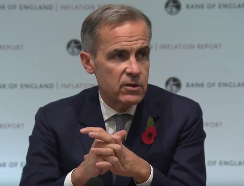 BOE's Carney at the inflation report – The press failed and Carney sailed
